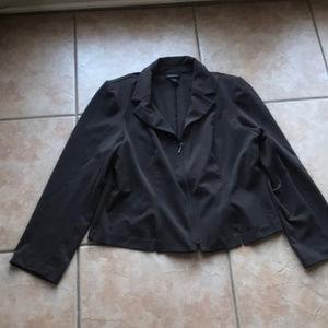 3/$30 Lane Bryant Brown Stretch Blazer Size 14/16